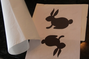 bunny table runner 1