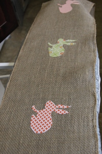 bunny table runner 6