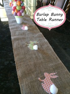 bunny table runner 7